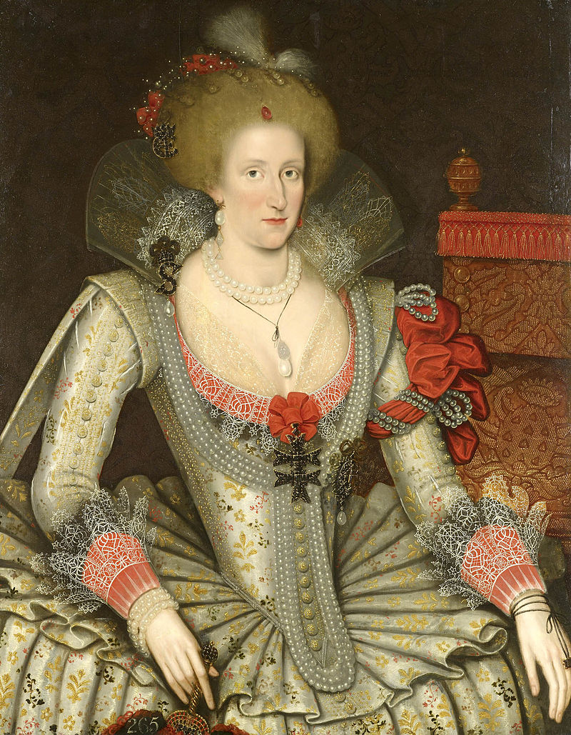 Marcus Gheeraerts the Younger, Anne of Denmark, 1614