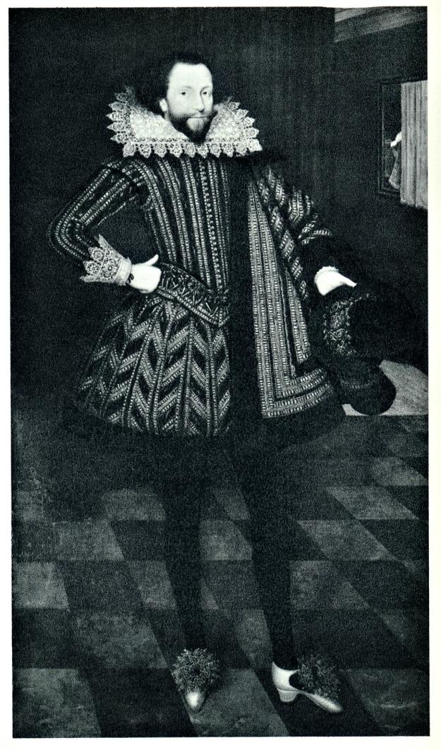 Gheeraerts the Younger, Sir John Kennedy, 1614.