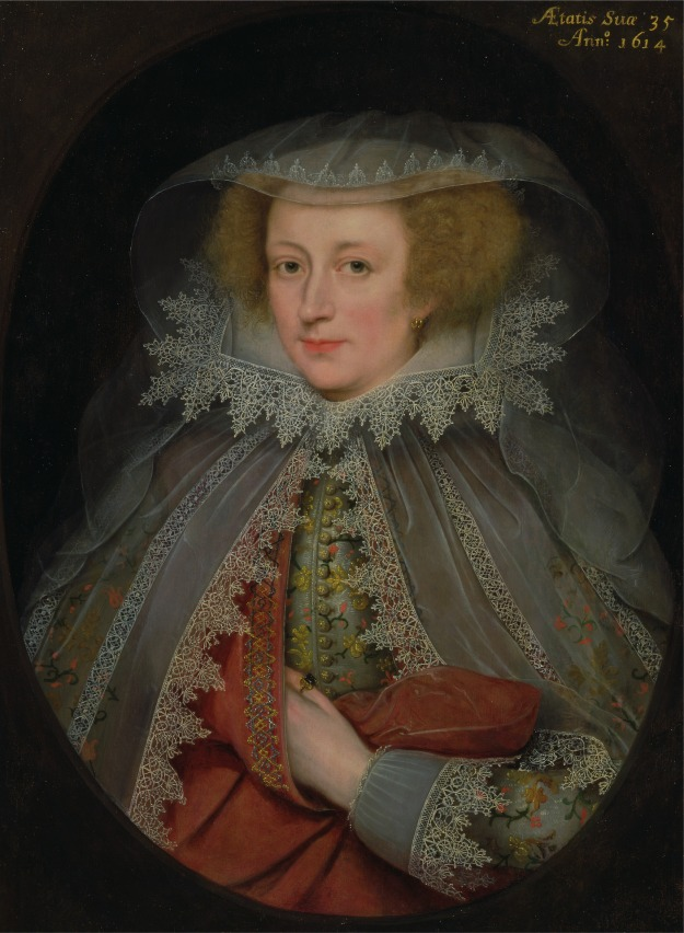 Gheeraerts the Younger, Catherine Killigrew Lady Jermyn, 1614.