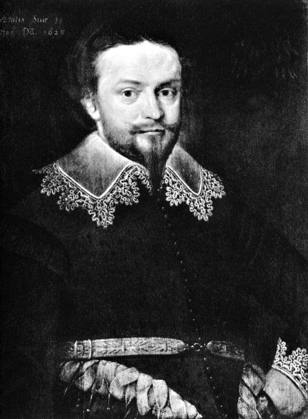 Gheeraerts the Younger, William Herbert, Earl of Pembroke, 1628.