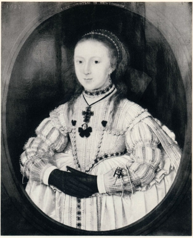 Gheeraerts the Younger, Lucy Davis. 1623. Private collection.