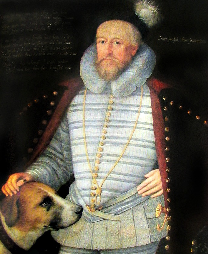 Marcus Gheeraerts the Younger, Sir Henry Lee, 1590s.