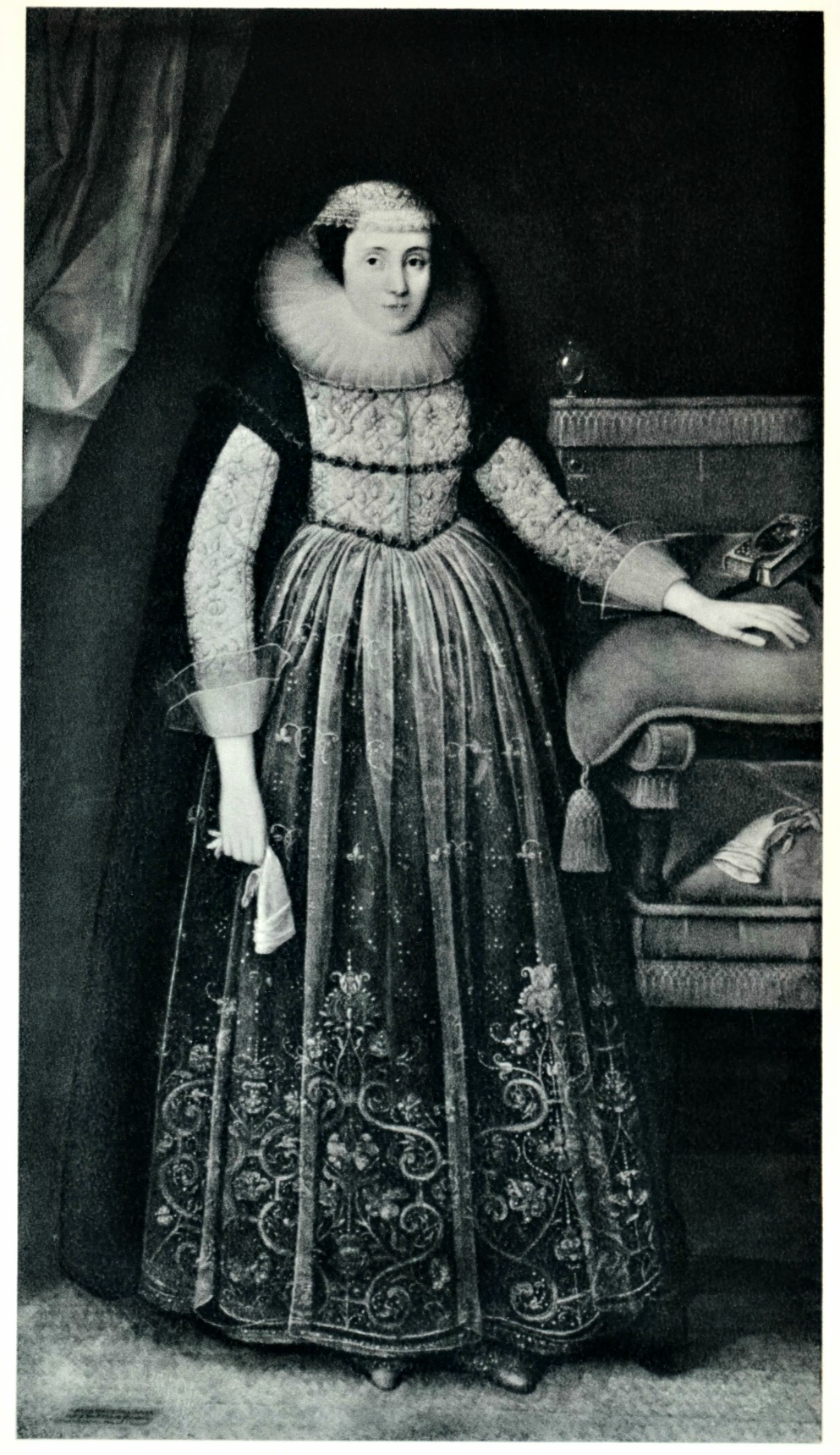Gheeraerts the Younger, Elizabeth Cherry, Lady Russell, 1625.