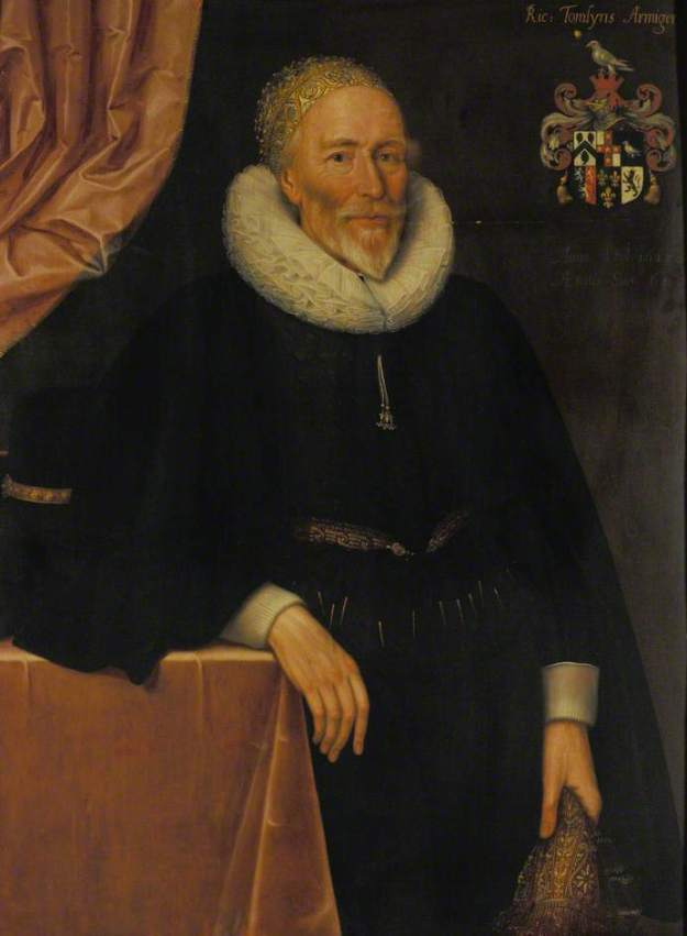 Gheeraerts the Younger, Richard Tomlins, 1628.