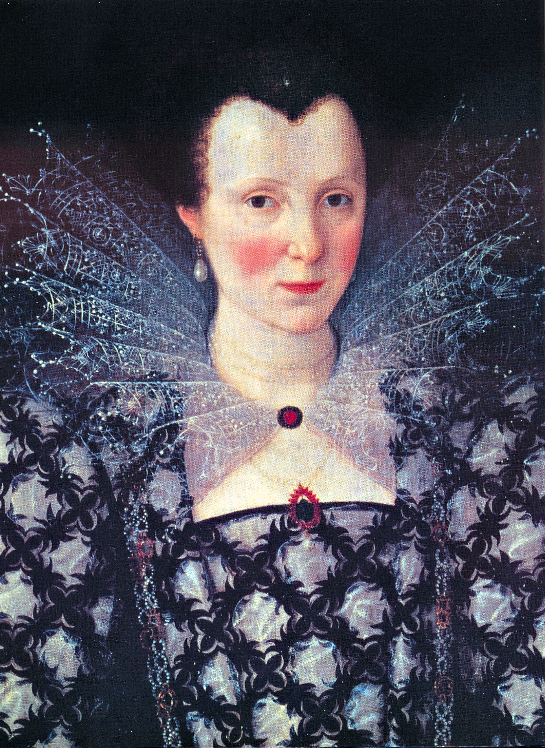 Unknown Lady (Mary Rogers, Lady Harington), 1593