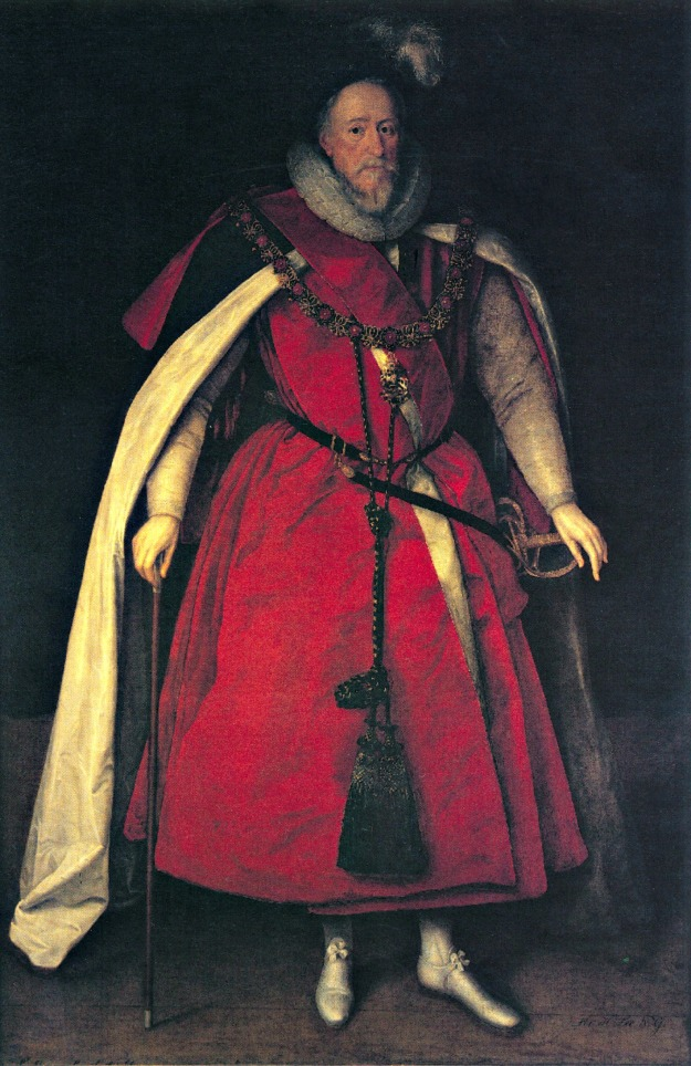 Sir Henry Lee in Garter Robes, 1602.