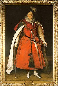 Marcus Gheeraerts the Younger, Sir Henry Lee, 1602.