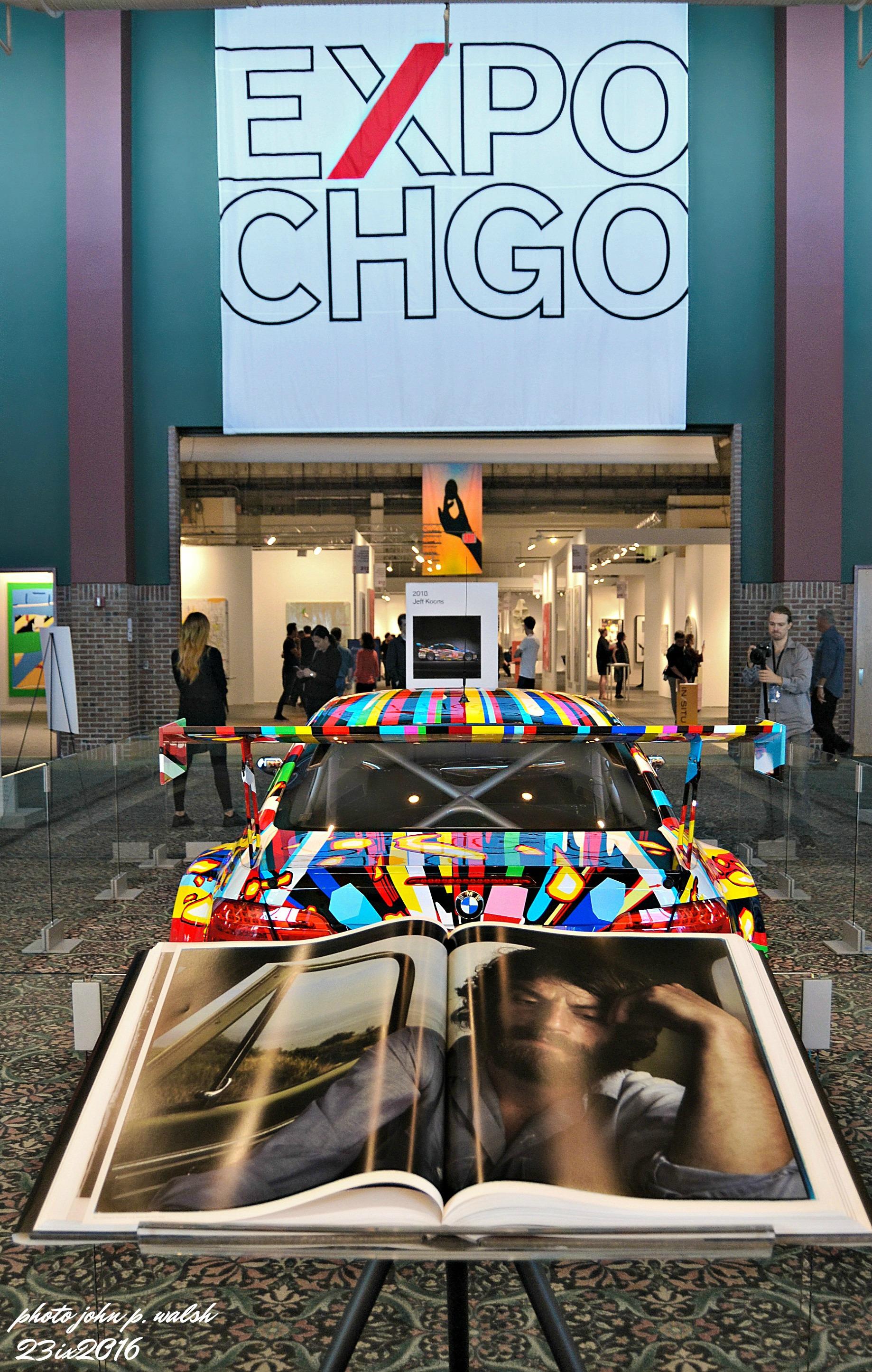 Jeff Koons' 17th Art Car.