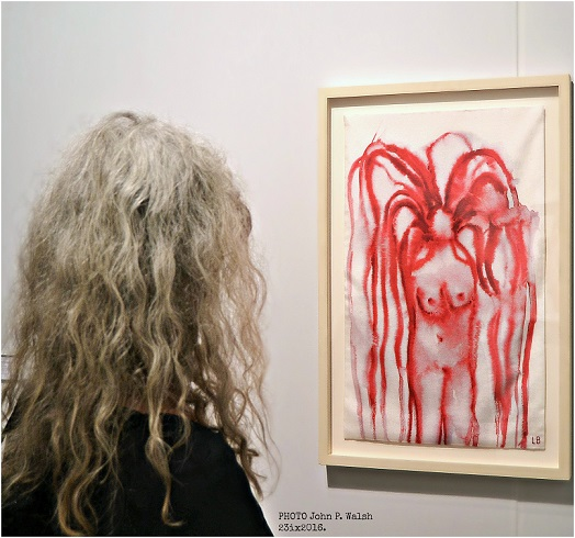 Louise Bourgeois, Girl with hair, 2007. (resize)