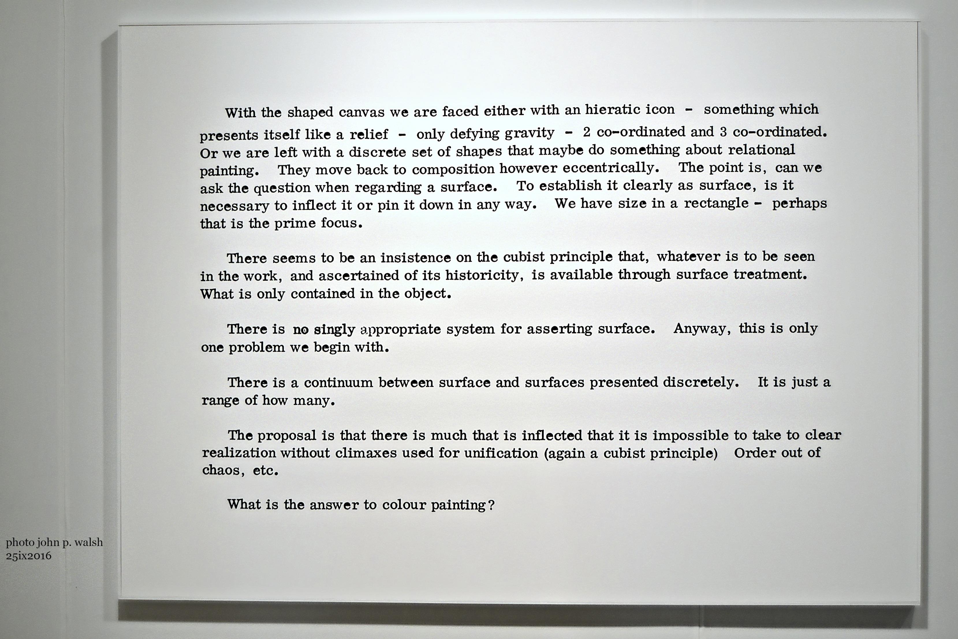 Art+Language Made in Zurich 1965-1972, London.
