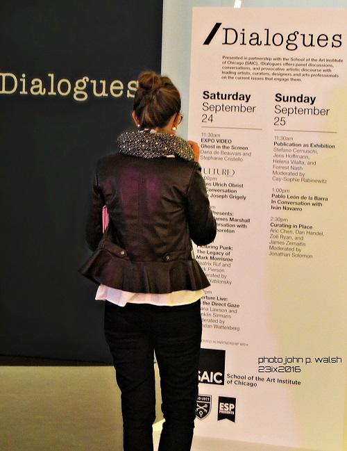 Dialogues.