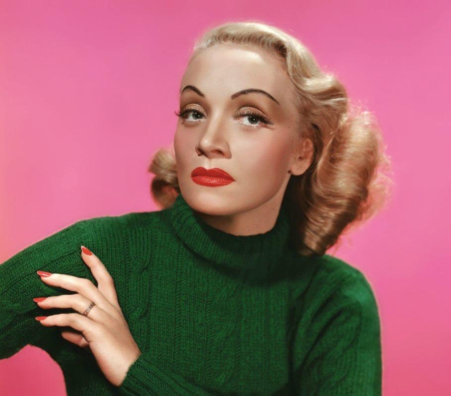 Marlene Dietrich, 1947.