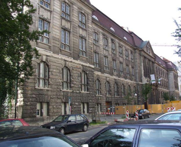 Facade of Reichskriegsgericht, Berlin.