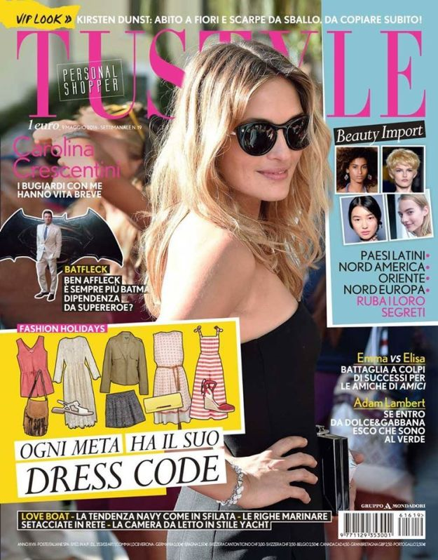 Tu Style Magazine [Italy] (9 May 2016)