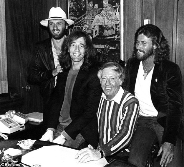 Stigwood and Bee Gees