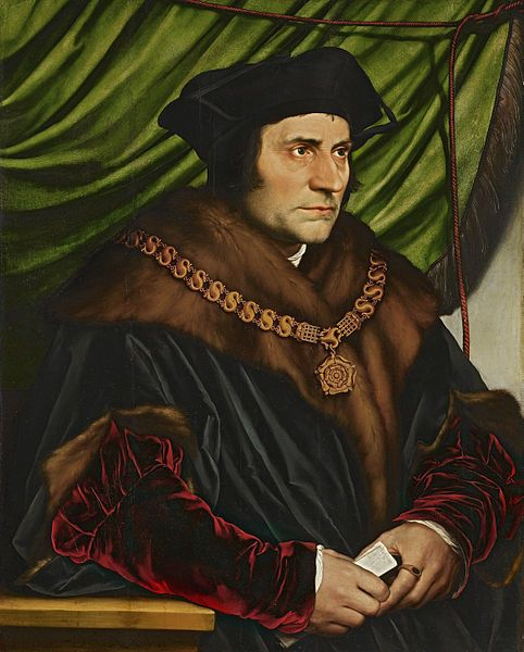 Holbein the Younger, Thomas More, 1527