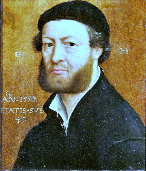 Self portrait Hans Holbein