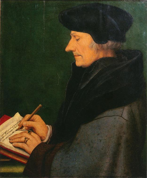 Holbein Erasmus 1523 Basel