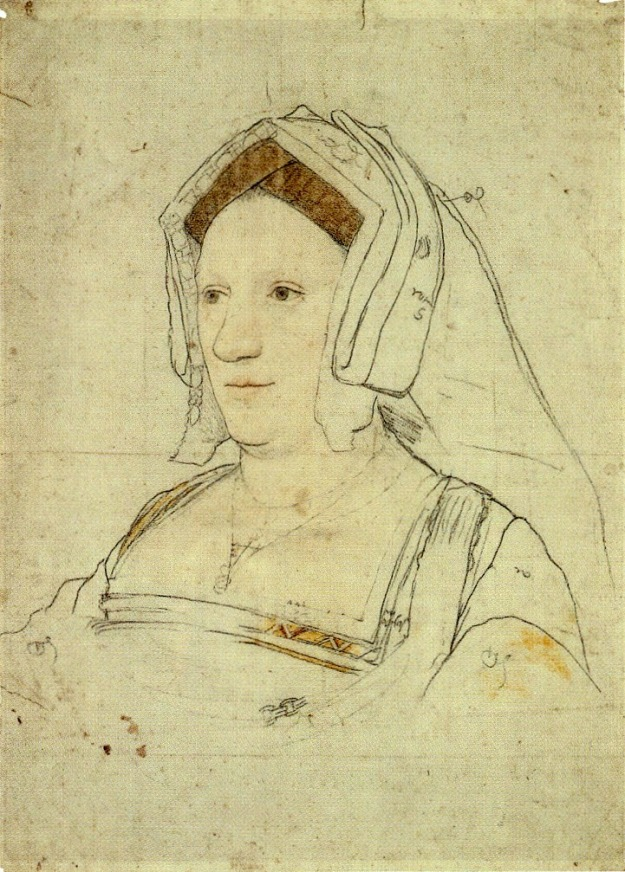 Portrait of an Unknown Englishwoman 1527