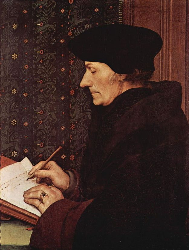 Holbein the Younger Erasmus 1523 Louvre