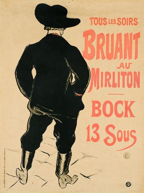 Bruant Au Miriton 1893
