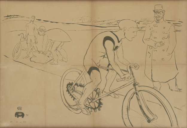 Cycle Michael, 1896.