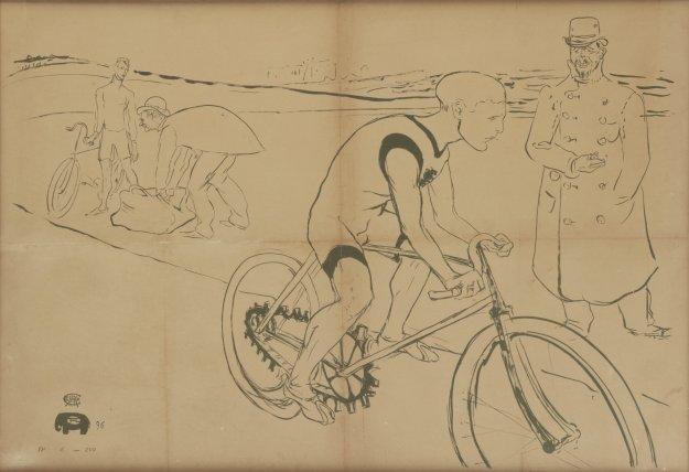 Cycle Michael, 1896.