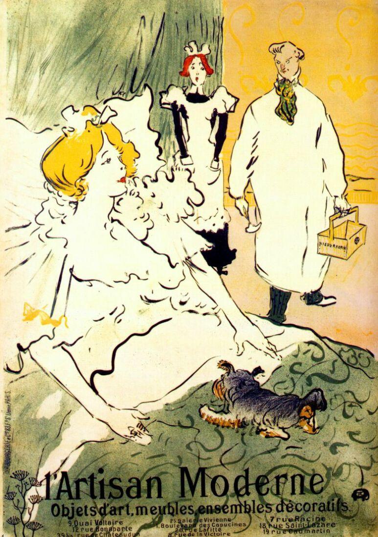 Lautrec_l'artisan_moderne_(poster)_1894