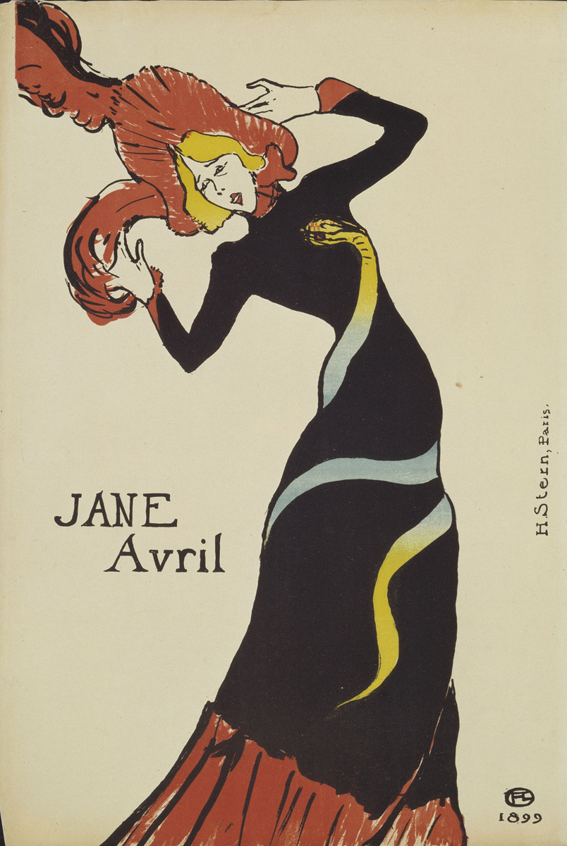 Jane Avril, 1899