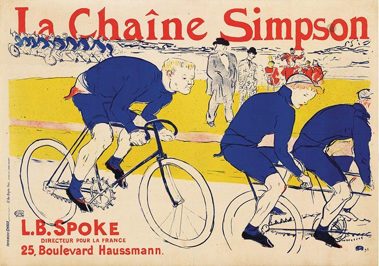 La Chaine Simpson, 1896