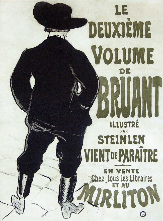 Bruant Au Miriton, 1893.