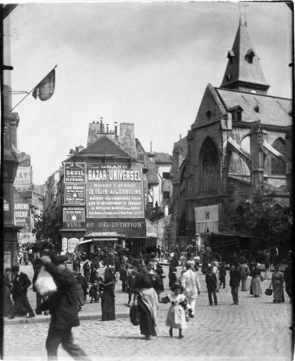 Atget Place Saint Medard