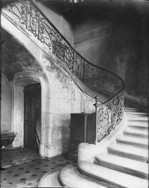 Atget, Hotel de Brinvilliers Rue Charles V