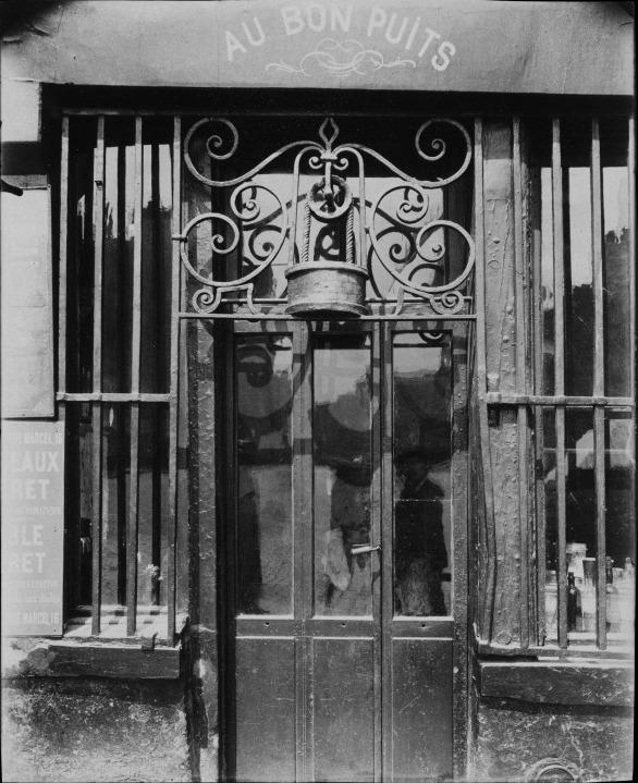Atget, Au Bon Puits, rue Michel-Le-Comte, 1901