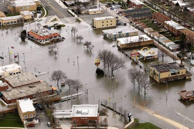 Aerial 2013 Des Plaines