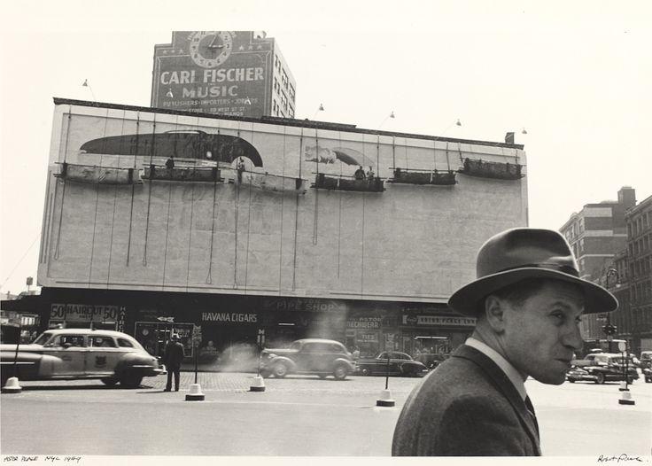 Astor Place, New York City, 1949