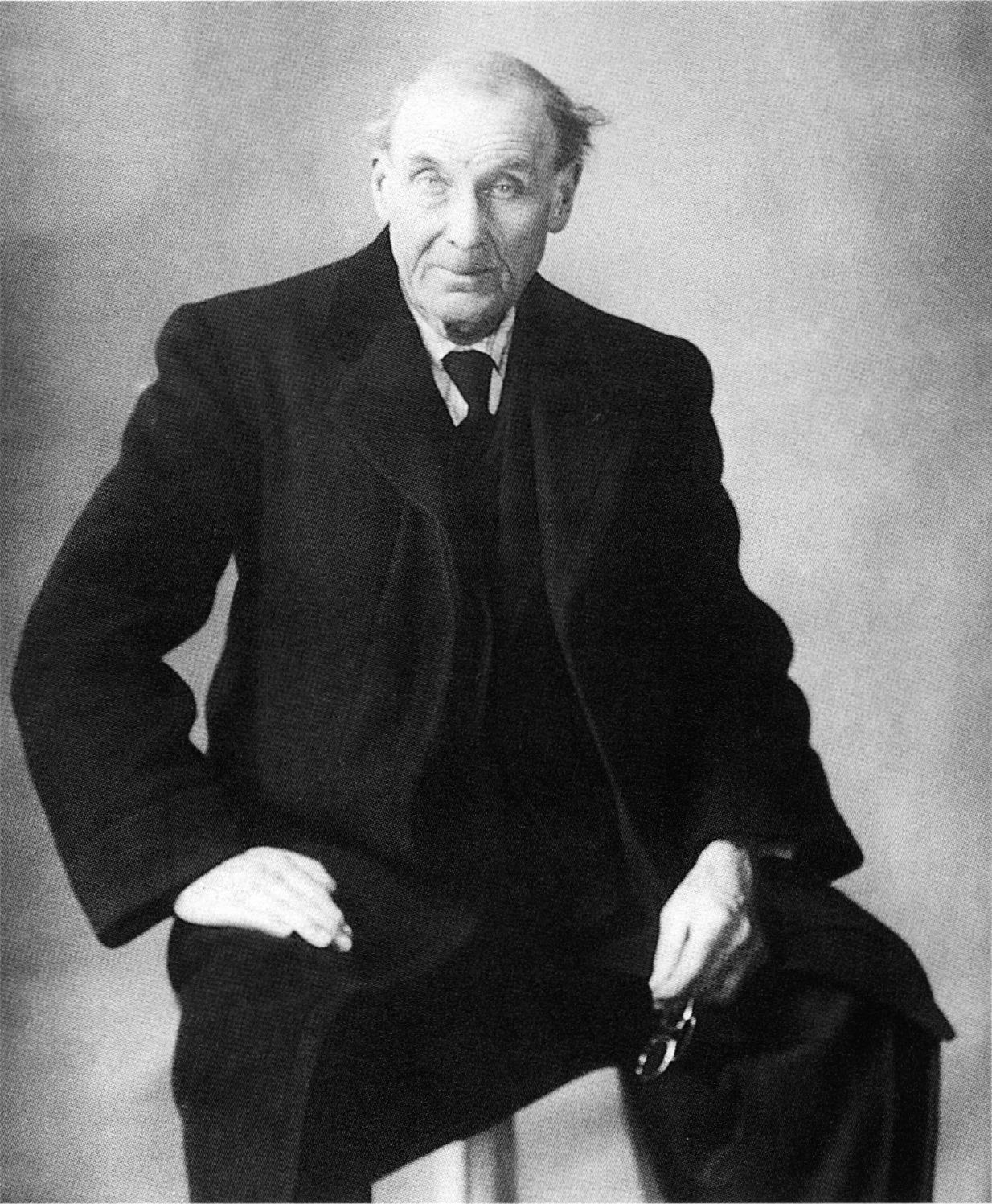 Eugène Atget by Berenice Abbott, 1927