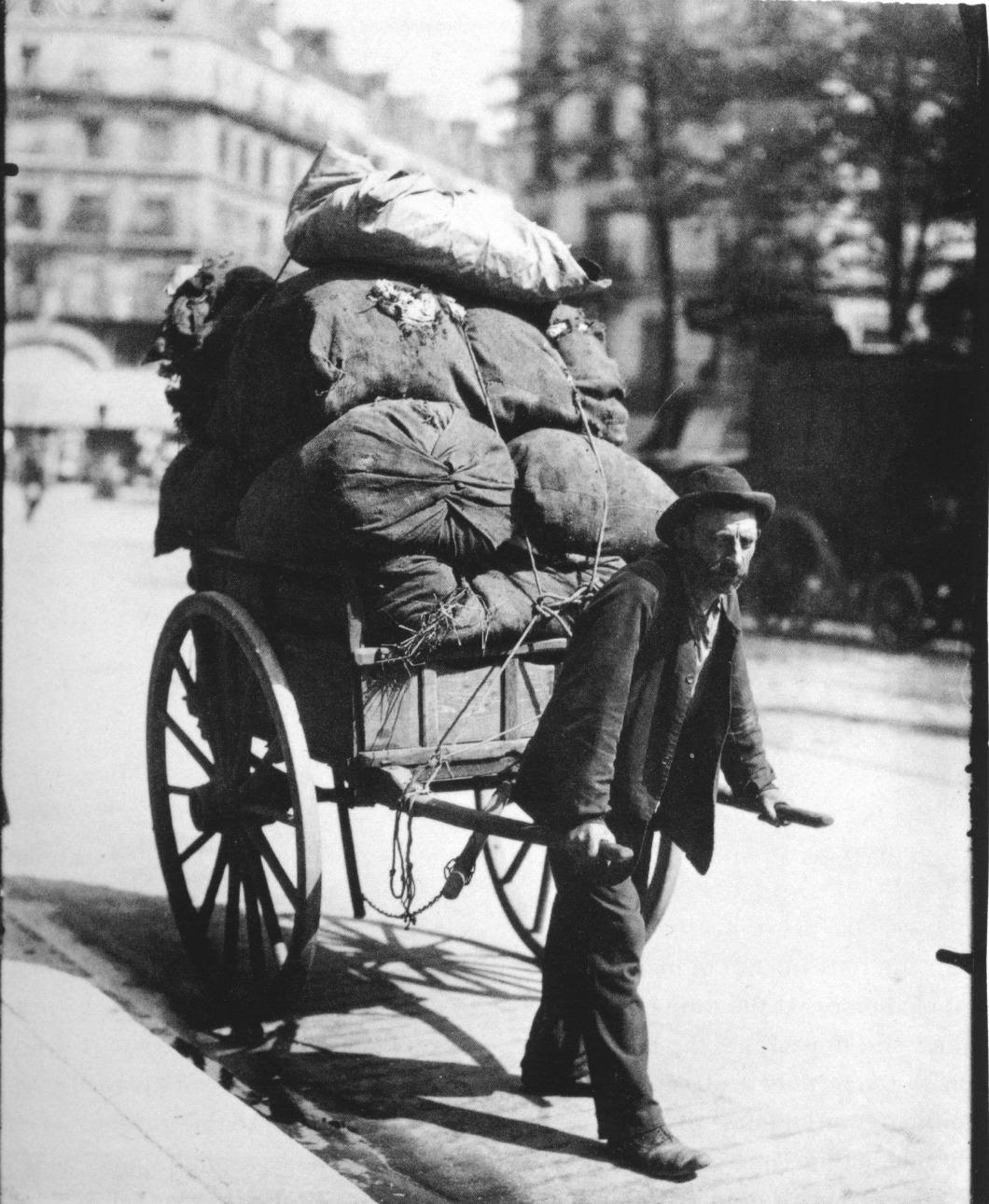 Ragpicker, avenue des Gobelins, 1901