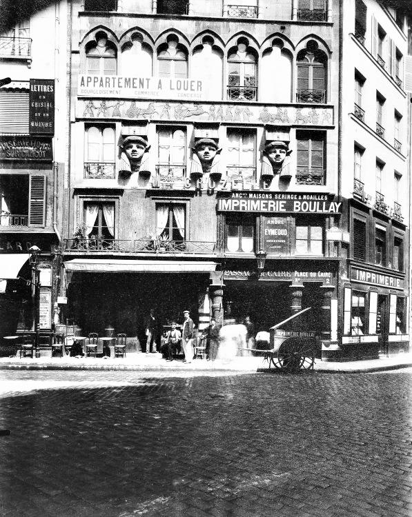 Atget, Paris Maison, Place du Caire, 1903