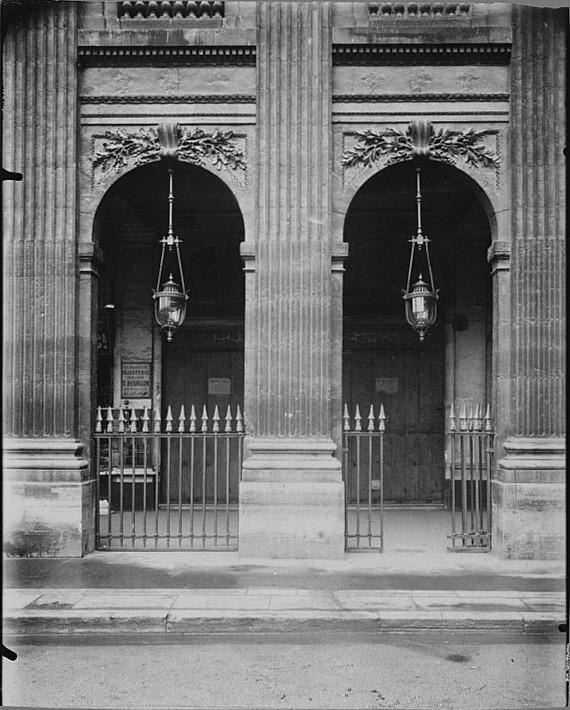 Atget, Paris Palais Royal