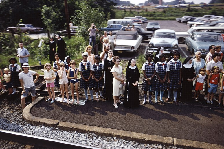 RFK funeral train Paul Fusco