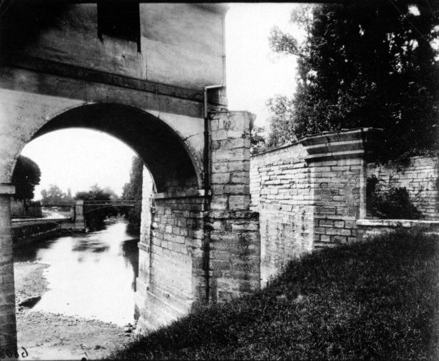 Atget, old mill, Charenton 1915.