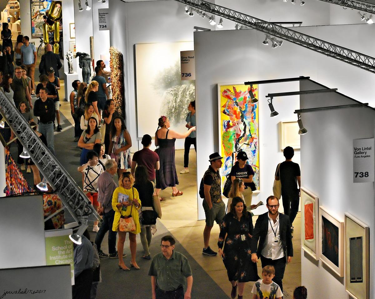 EXPO Chicago 2017, September 13-17. Sixth Annual International Exposition of Contemporary & Modern Art. (34 photos).