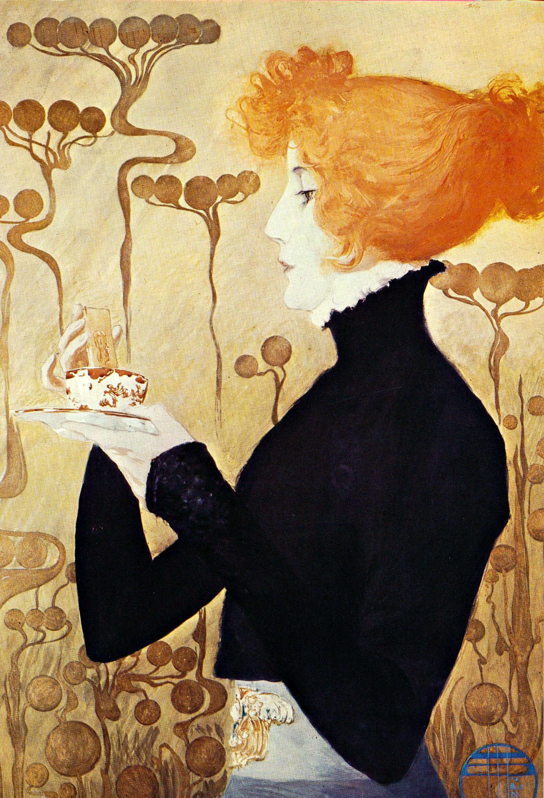 Divine Sarah c. 1900-1903 Manuel Orazi