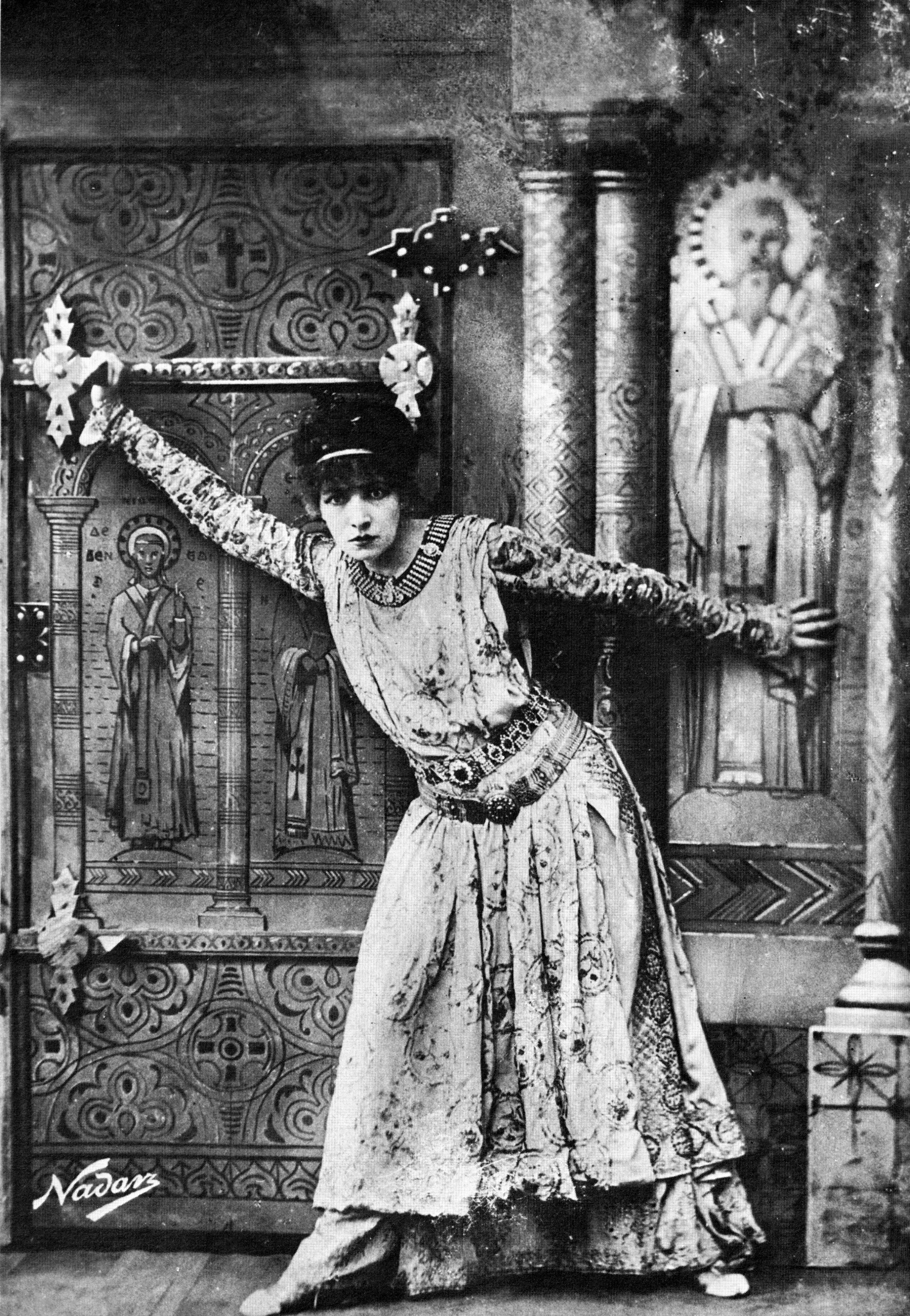 SB in title role of theodora 1884
