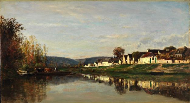 Daubigny Village of Groton 1857 San Francisco
