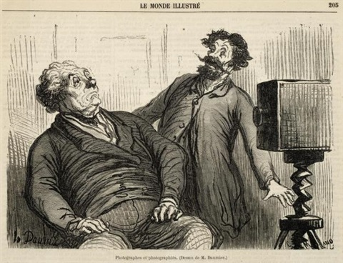 honoré-daumier-caricature-de-photographie---a-collection-of-ten-lithographs