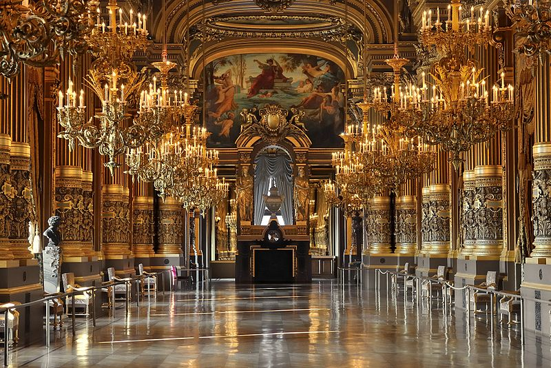 Le Grand Foyer Opera Garnier Paris