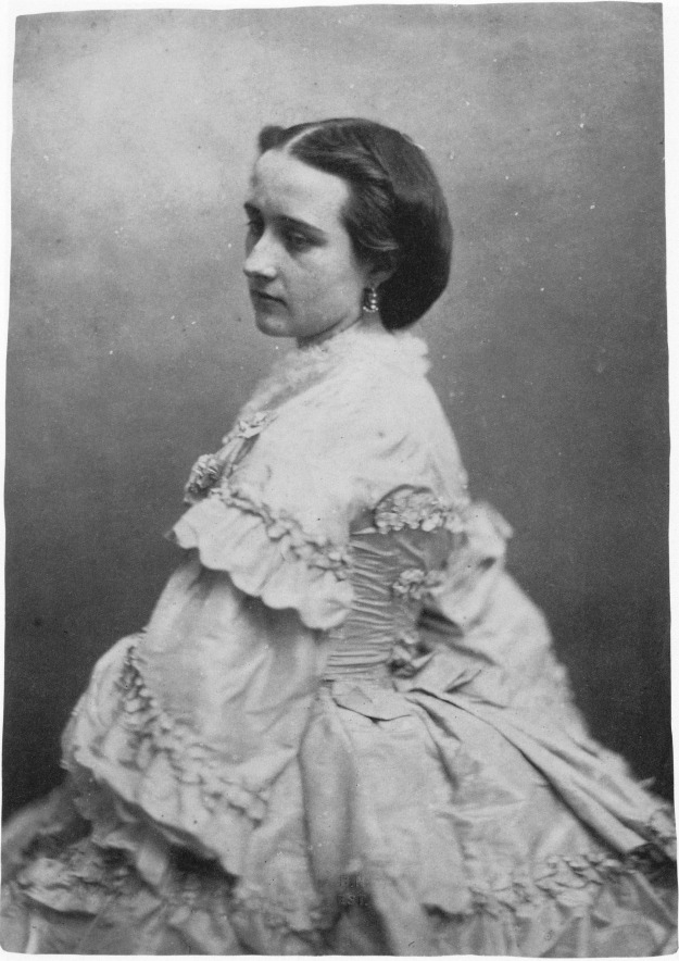Mademoiselle de Sanzillon, c.1858