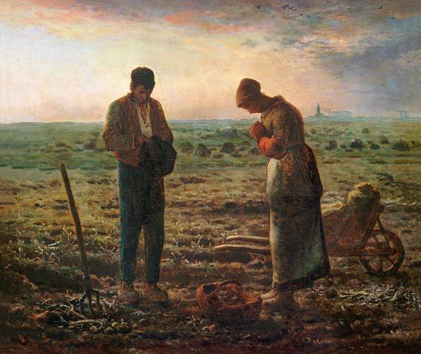 Millet The Angelus c. 1857
